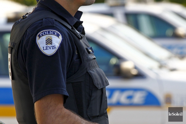 Le service de police de Lévis ne compte... (Photothèque Le Soleil, Yan Doublet)