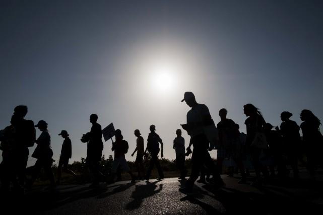 En juillet dernier, le commissaire régional de Dar... (PHOTO DANIEL HAYDUK, ARCHIVES AFP)