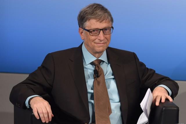 Bill Gates est toujours l'homme le plus riche... (Archives, AFP)
