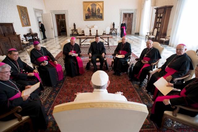 Les gardiens intransigeants d'un dogme millénaire sont ulcérés... (AP)
