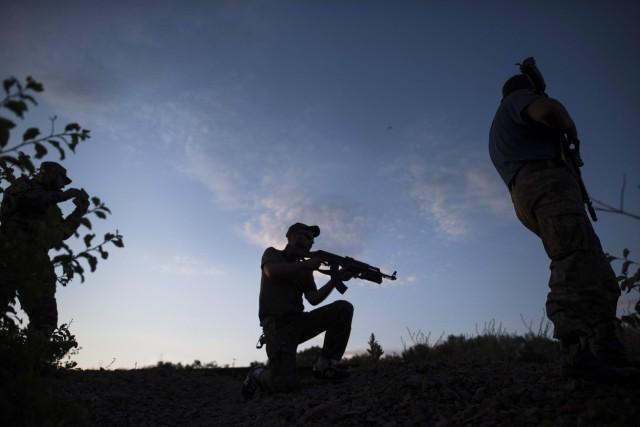 Le conflit qui se joue dans la partie... (Archives AP, Evgeniy Maloletka)