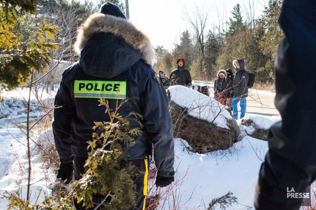 De plus en plus de migrants quittent les... (La Presse, Martin Tremblay)