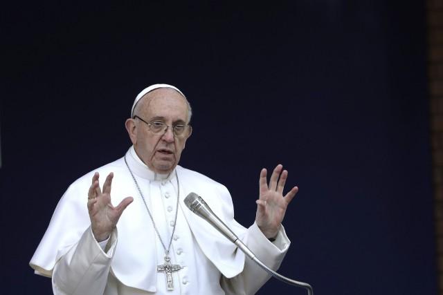 Le pape François... (PHOTO Alessandra Tarantino, AP)