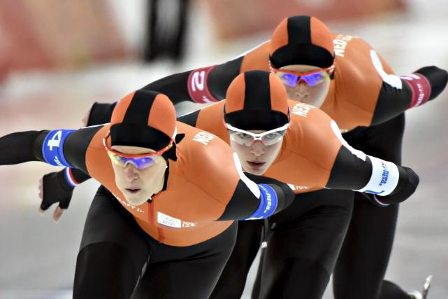 Dans certaines disciplines, comme le patinage de vitesse,... (Photothèque Le Soleil)