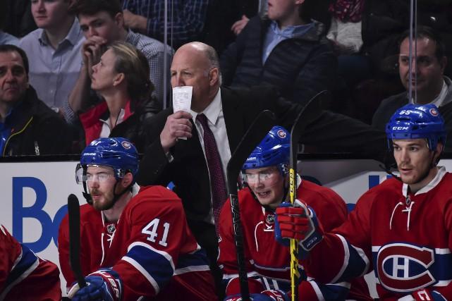 L'entraîneur-chef Claude Julien a «vu beaucoup de nervosité... (AFP, Minas Panagiotakis)