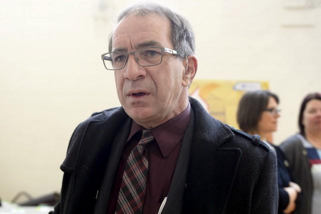 Le président démissionnaire de la Commission scolaire des... (Archives Le Progrès-Dimanche, Jeannot Lévesque)