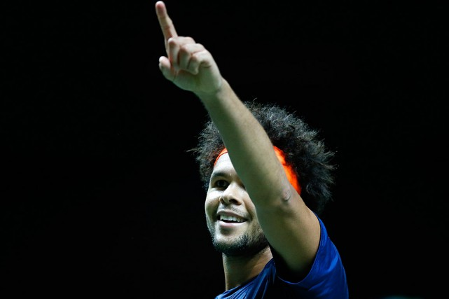 Jo-Wilfried Tsonga... (Photo Peter Dejong, AP)