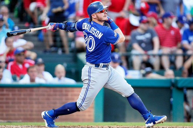 Josh Donaldson a subi un claquage au mollet droit.... (Photo Tim Heitman, archives USA Today Sports)
