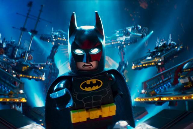 LEGO Batman: le filma récolté 43millions $ pour... (AP)