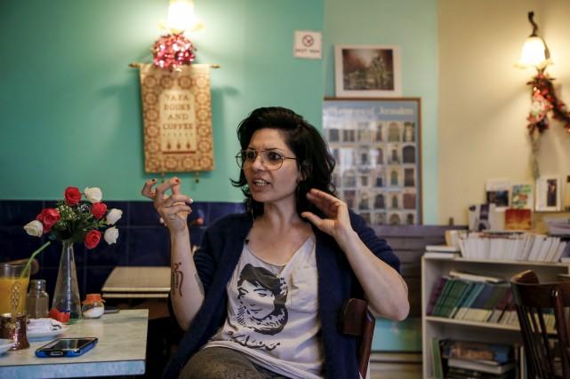 La réalisatrice Maysaloun Hamoud areçu des menaces de... (AFP, Ahmad Gharabli)