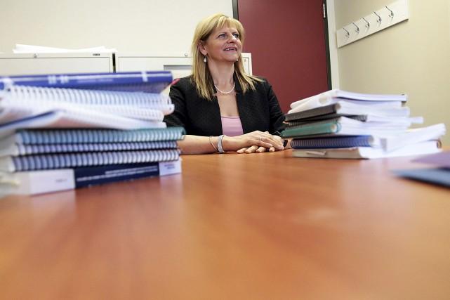 La directrice des ressources humaines, des affaires juridiques... (Etienne Ranger, Le Droit)