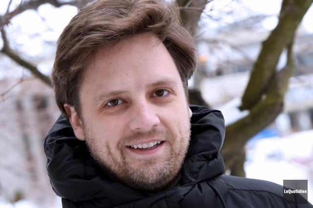 Le chef d'orchestre Jean-Philippe Tremblay.... (Photo Le Quotidien, Rocket Lavoie)
