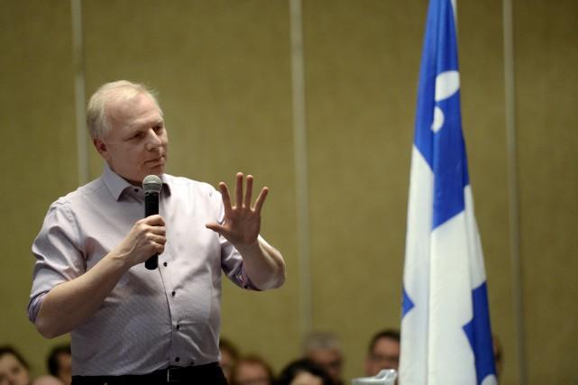 Jean-François Lisée affirme que le Parti québécois est... (Archives, La Quotidien)