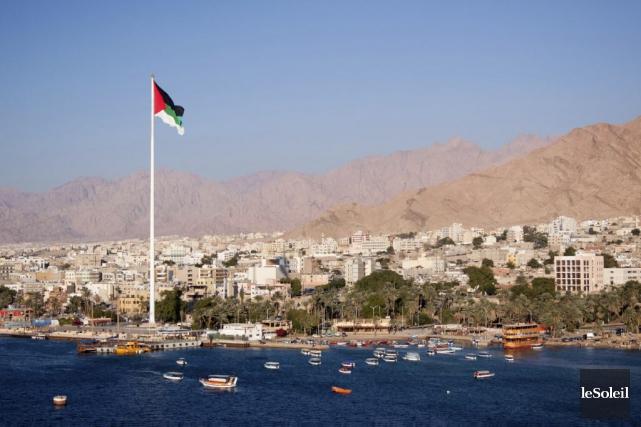 C'est dans la ville d'Aqaba, en Jordanie, que... (Photothèque Le Soleil)