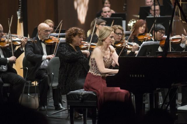 Anne-Marie Dubois a livré une prestation faisant la... (Spectre média, Julien Chamberland)