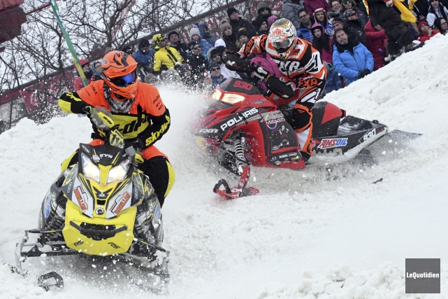Les promoteurs du Snowcross Saguenay Évolution-X estiment avoir... (Photo Le Quotidien, Michel Tremblay)