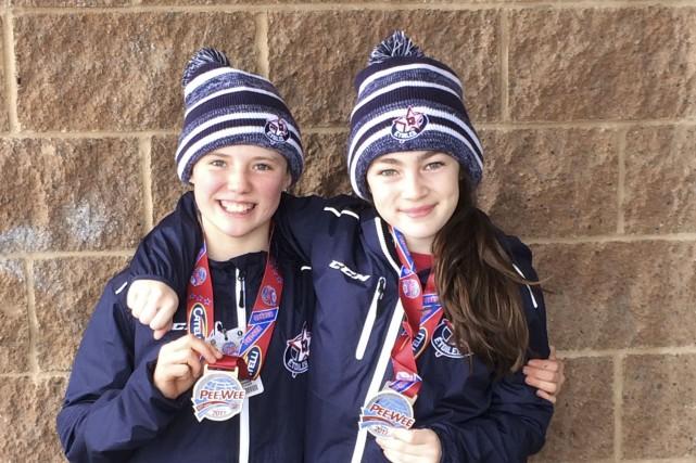 Georgia Bailey et Naomi Côté étaient les deux... (Photo fournie)