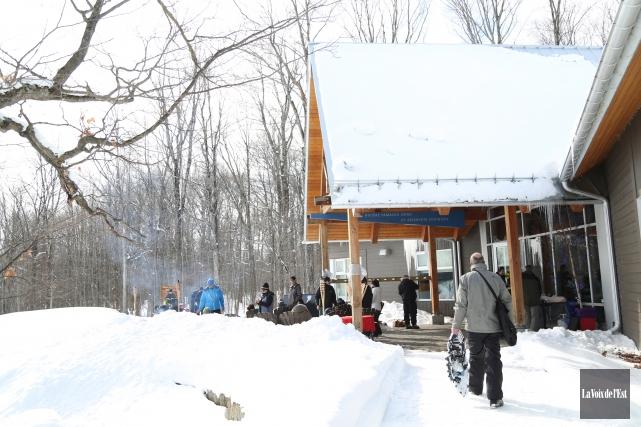 Le parc national de la Yamaska a accueilli... (Julie Catudal, La Voix de l'Est)