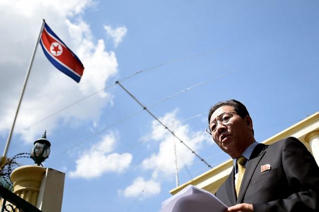 L'ambassadeur de la Corée du Nord à Kuala... (AFP)