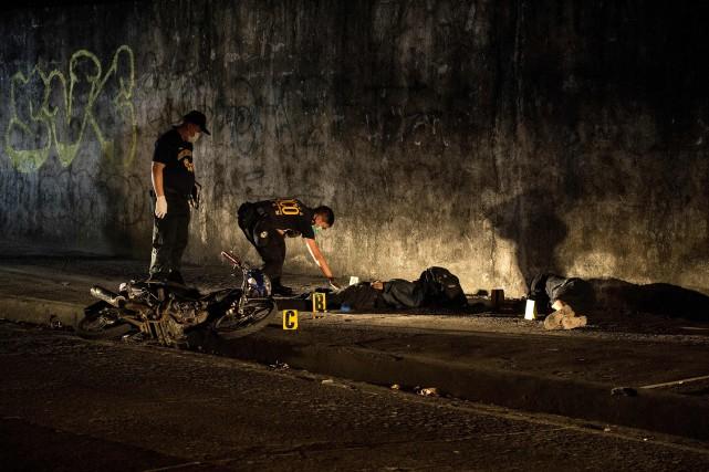 Dans toutes les Philippines, Rodrigo Duterte a décrété... (Photo Noel Celis, archives Agence France-Presse)