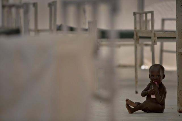 «Lorsqu'on déclare officiellement l'état de famine, cela veut... (Photo Kate Holt, Associated Press/UNICEF)