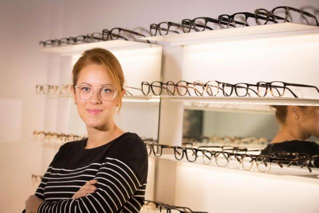Sophie Boulanger, cofondatrice et PDG de BonLook... (PHOTOIVANOH DEMERS, LA PRESSE)