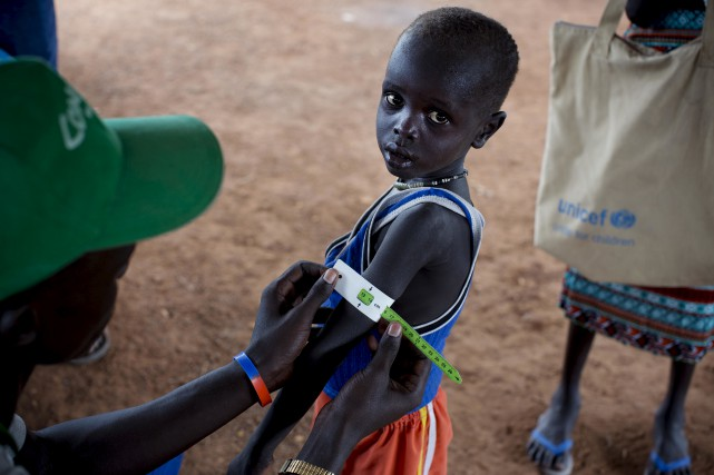 Lundi, trois organisations des Nations Unies ont indiqué... (AP, Kate Holt/UNICEF)