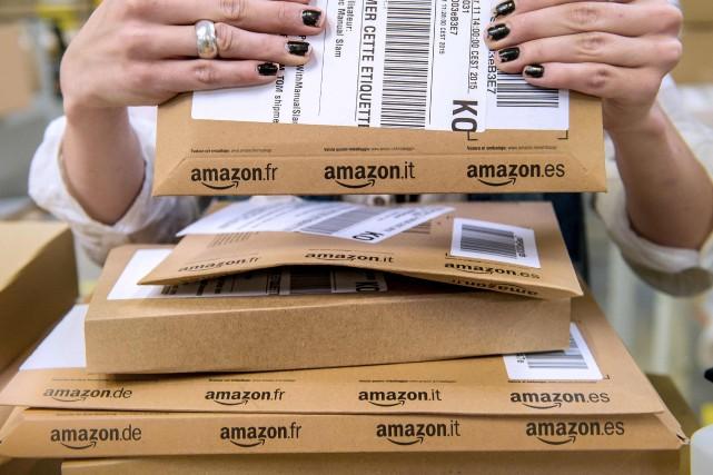 Cette annonce d'Amazon intervient après celle ces derniers... (PHOTO PHILIPPE HUGUEN, ARCHIVES AFP)
