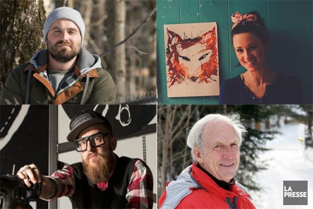 Des rêveurs à leurs affaires Petit portrait de quatre entrepreneurs qui ont... (PHOTOS LA PRESSE)