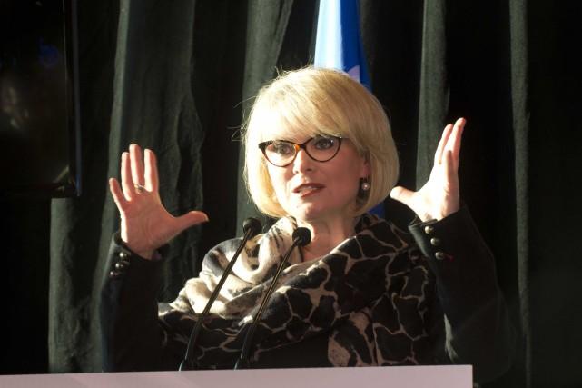 La ministre du Tourisme, Julie Boulet, poursuit sa... (Archives Sylvain Mayer)