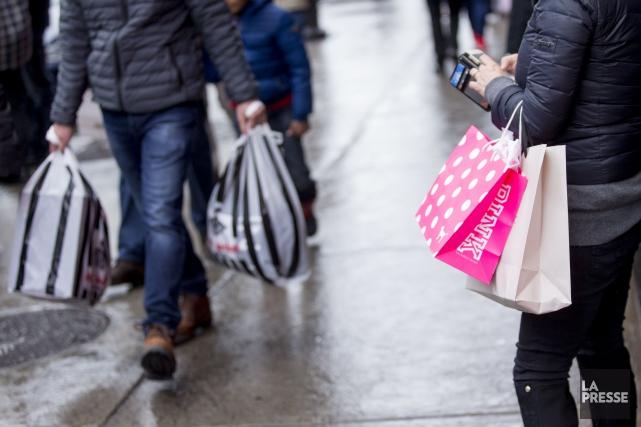 Croissance moins forte des ventes au détail en 2017 ...