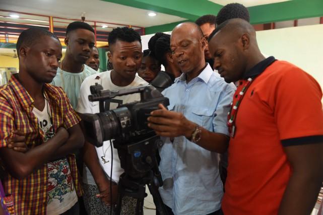 L'institut PEFTI forme des centaines de jeunes aux... (PHOTO AFP)