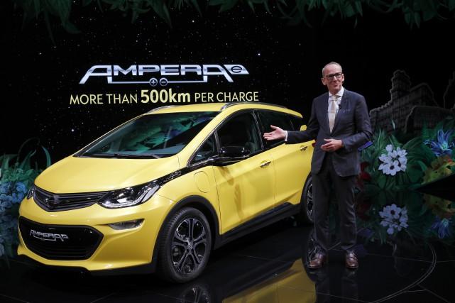 Le président d'Opel voulait faire d'Opel un constructeur... (photo AP)