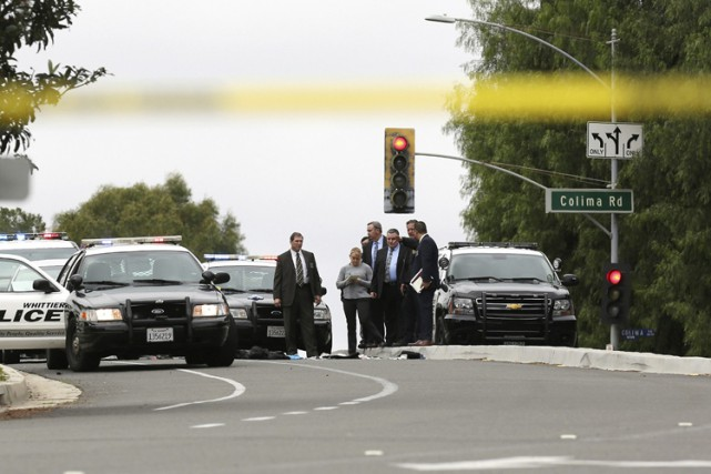 Les autorités croient que le suspect est membre... (PHOTO AP)