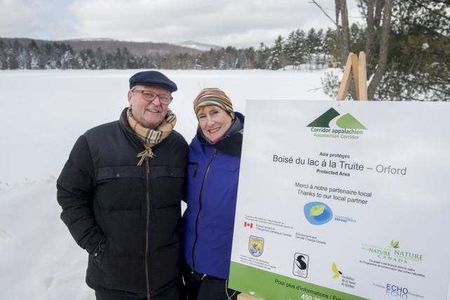 Bertrand Larivée, président de Conservation lac à la... (Spectre Média, Maxime Picard)