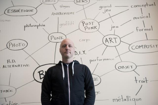 L'artiste sherbrookois Sébastien Pesot s'est illustré au 20e... (Spectre Média, René Marquis)