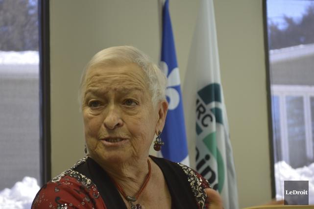 La préfète de la MRC Papineau, Paulette Lalande... (Benoit Sabourin, Le Droit)