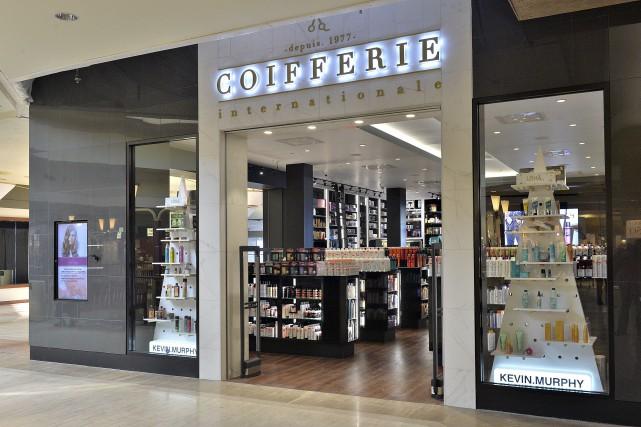 Le salon-boutique Coifferie Internationale de Place de la... (Patrice Laroche)
