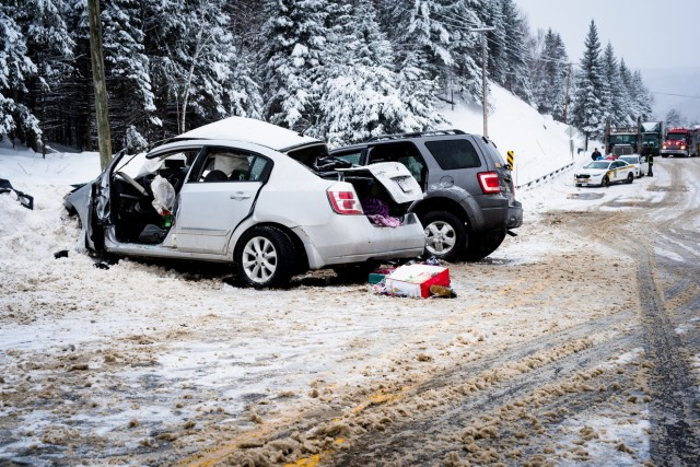Un tragique accident, survenu sur la route 155... (Caroline Bérubé)