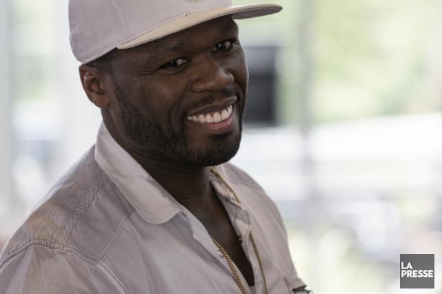 Le rappeur 50 Cent... (Archives, La Presse)