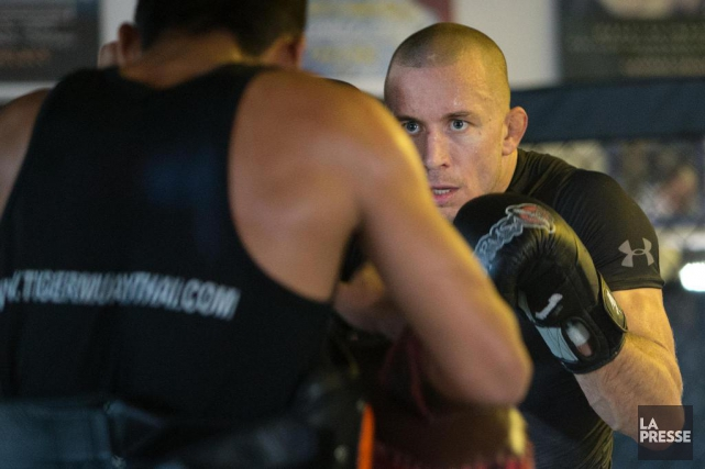 Georges St-Pierre s'est entendu avec l'UFC pour un... (PHOTO ROBERT SKINNER, ARCHIVES LA PRESSE)