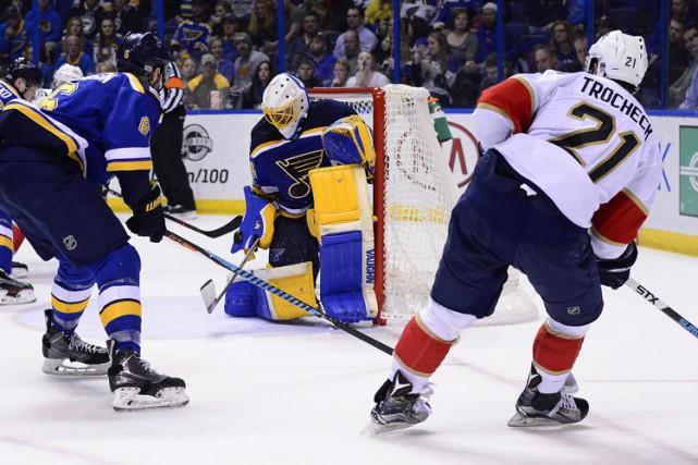 Vincent Trocheck a dénoué l'impasse avec cinq secondes au tableau au troisième... (PHOTO REUTERS)