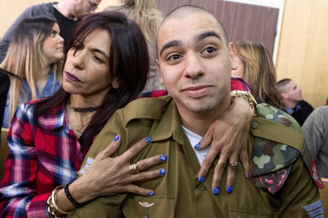 Le sergent Elor Azaria de 21 ans est... (Photo REUTERS)
