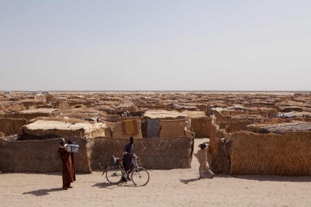 Monguno, dans l'extrême nord-est du Nigeria, est un... (Photo Florian Plaucheur, Agence France-Presse)