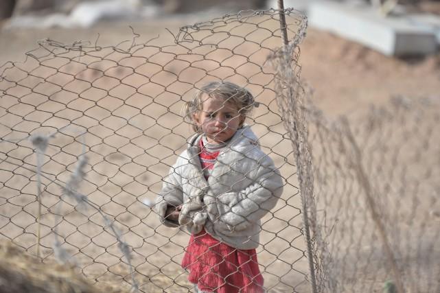 Environ 350 000 enfants, âgés de moins de... (Photo REUTERS/Stringer)