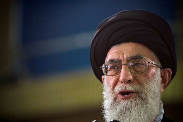 Ali Khamenei... (PHOTO CAREN FIROUZ, ARCHIVES REUTERS)
