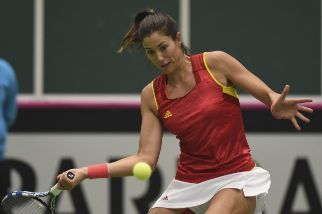 Garbine Muguruza... (Photo Jaroslav Ozana, AP)