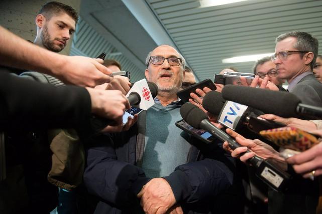 «Personnellement, je considère que mon deuil n'est pas... (Photo Jacques Boissinot, La Presse Canadienne)