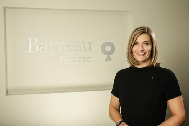 La bâtonnière Claudia Prémont... (Photo fournie par le Barreau du Québec)