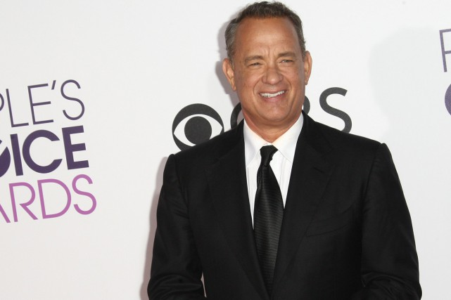 Tom Hanks lors des People's Choice Awards en... (PHOTO ARCHIVES AFP)